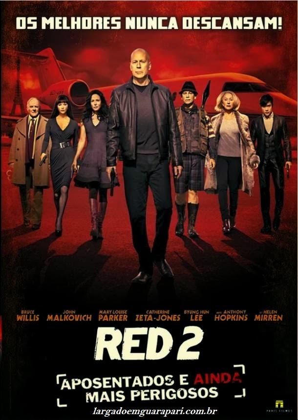 Red 2 Aposentados e Ainda Mais Perigosos